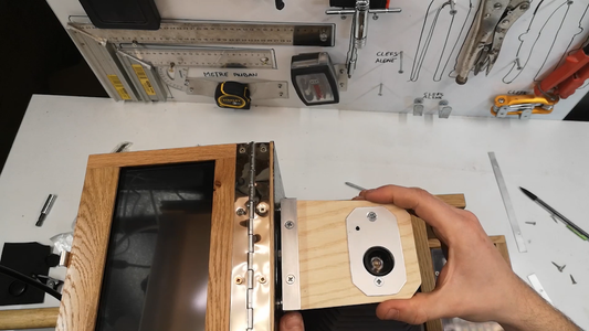 MONTAGE SOUFFLET SUR L'APPAREIL / BELLOWS MOUNTING ON THE APPLIANCE