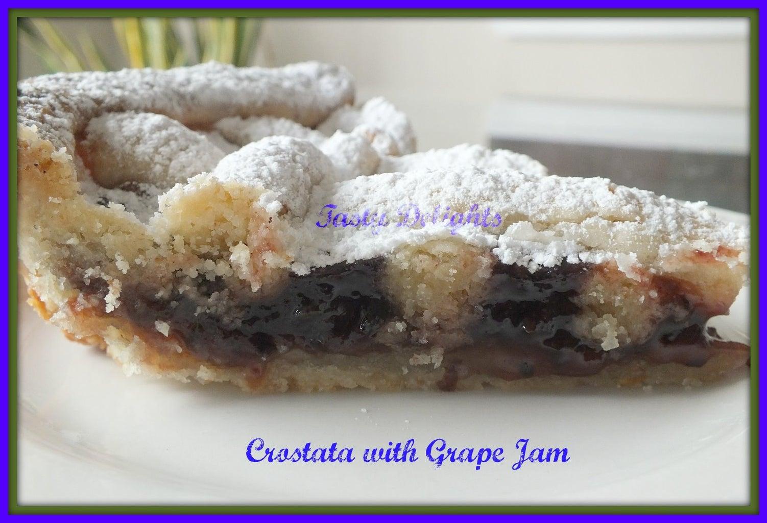 Grape Jam Crostata