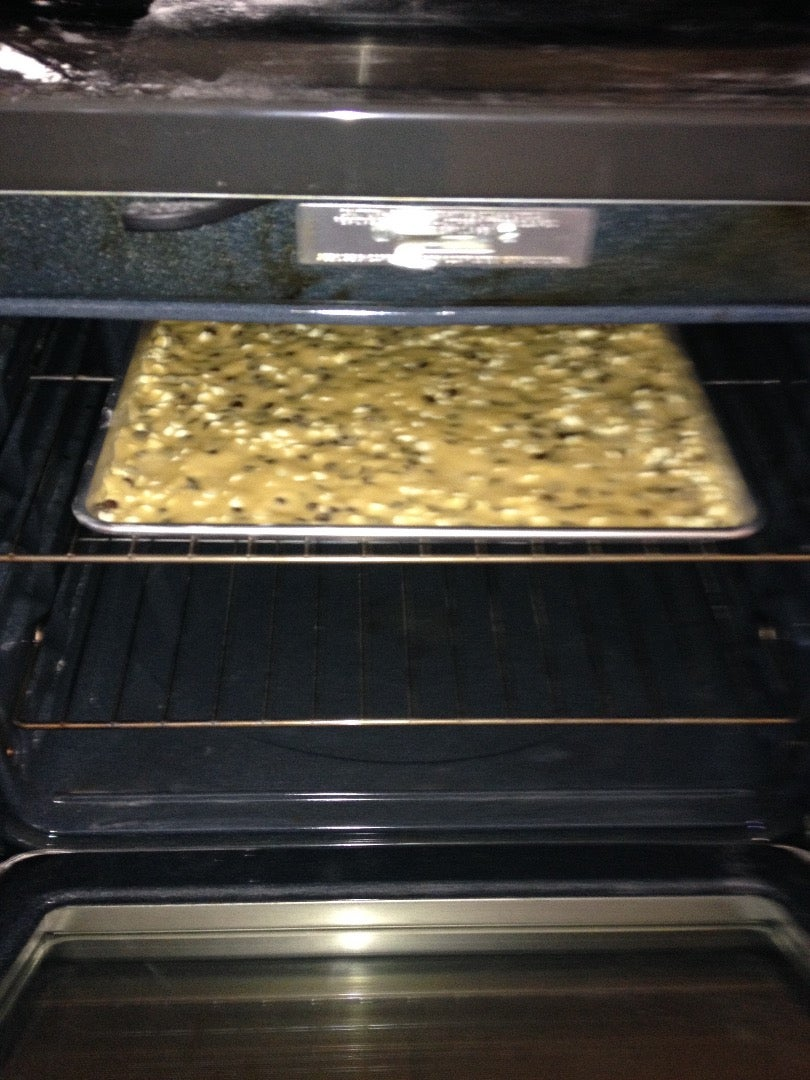 Place the Flattened Batter in the Oven