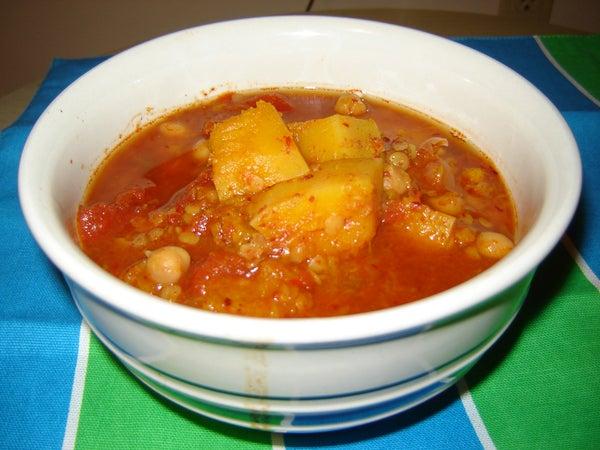 Moroccan Stew (Vegan)
