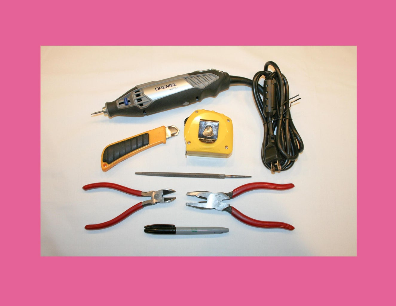 And the Following TOOLS: