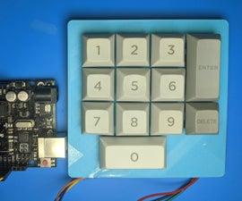 Arduino Mechanical Keypad