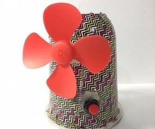 Recyclable Desk Fan (Failproof)
