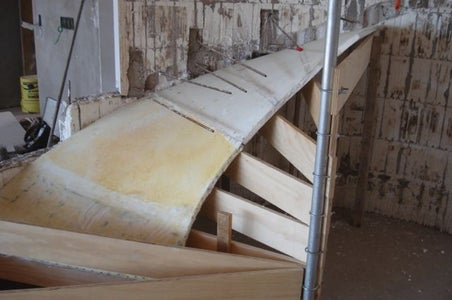 Forming the Spiral Ramp