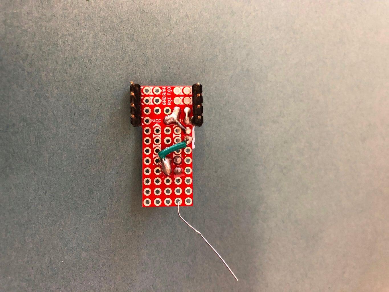 Microprocessor, ProtoShield, & Power Distribution Board Assembly