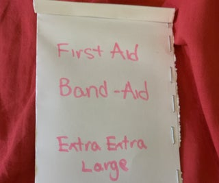 Extra Extra Large Band-aid! (Non -sterile)