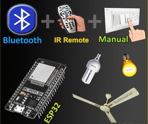 ESP32 Bluetooth Home Automation With IR Remote Control Relay   ESP32 Projects 2021