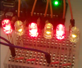 Mini Arduino LED Christmas Lights
