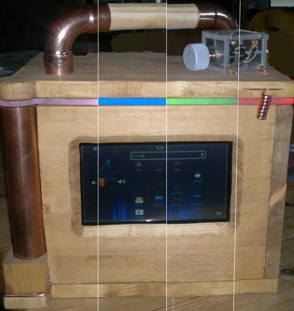 Building an W LAN Internet Radio Out of an Tablet