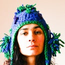 Blue Tassel Hat