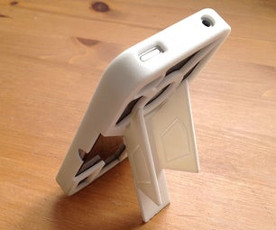 TriStand - 3D Printed IPhone Case With Built in Stands