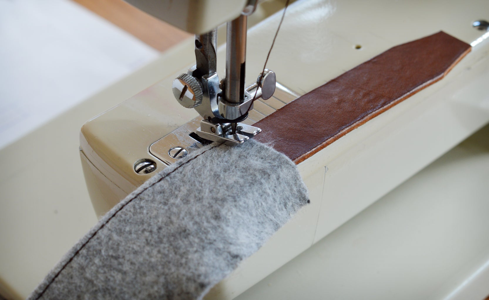 Sewing and Fitting the Wool
