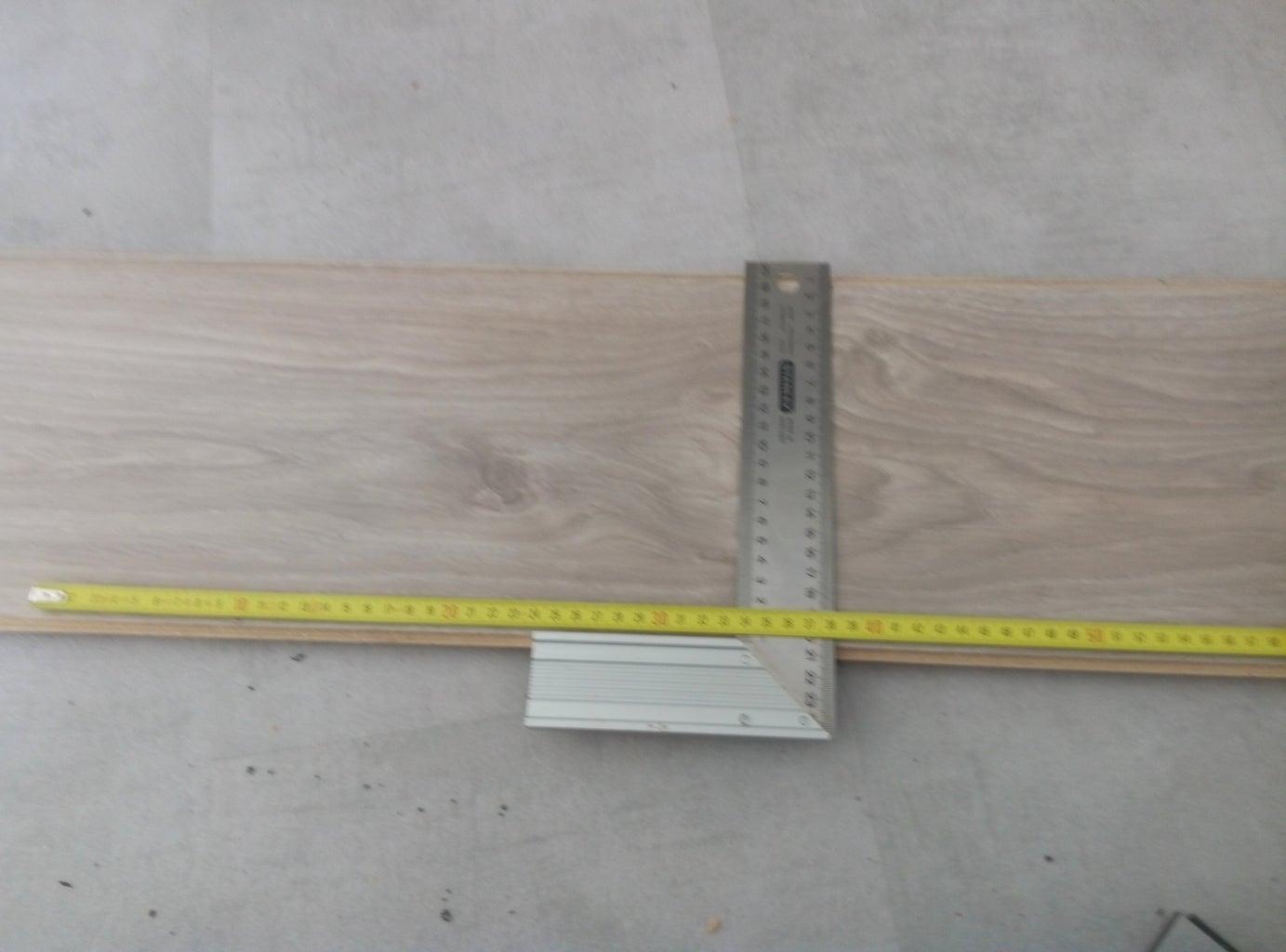 Tread First Plank.