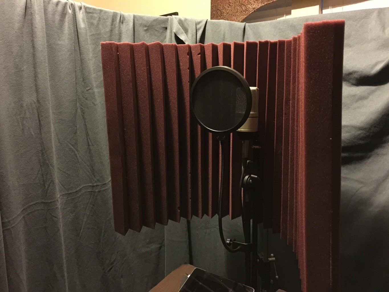 Vocal GOBO - Sound Dampener Shield - Vocal Booth - Vocal Box - Reflexion Filter - Vocalshield
