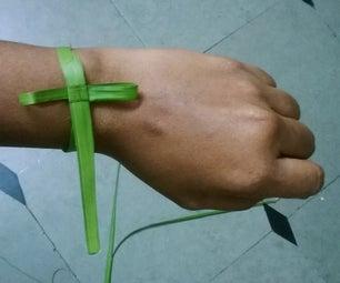 2 Minute Christmas Bracelet
