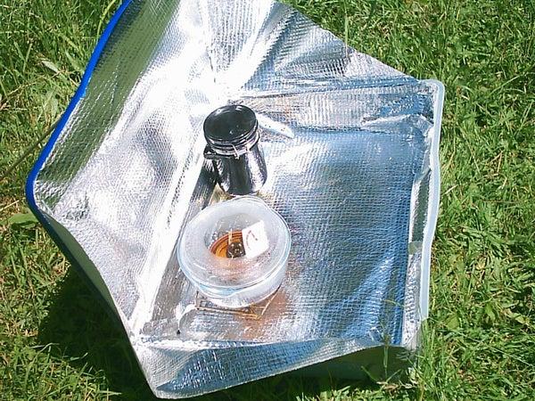 3 Simple Solar Cooker Designs