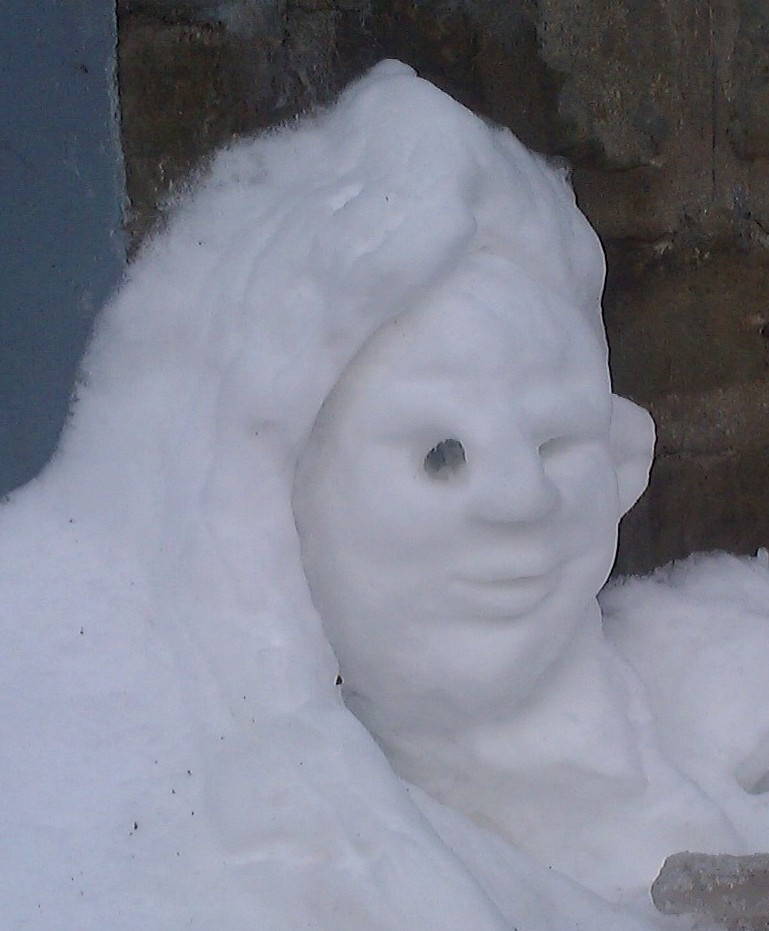 Snow Carving - It is snow much fun!