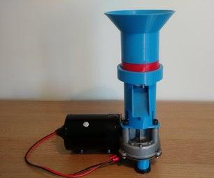 3D印刷咖啡研磨机