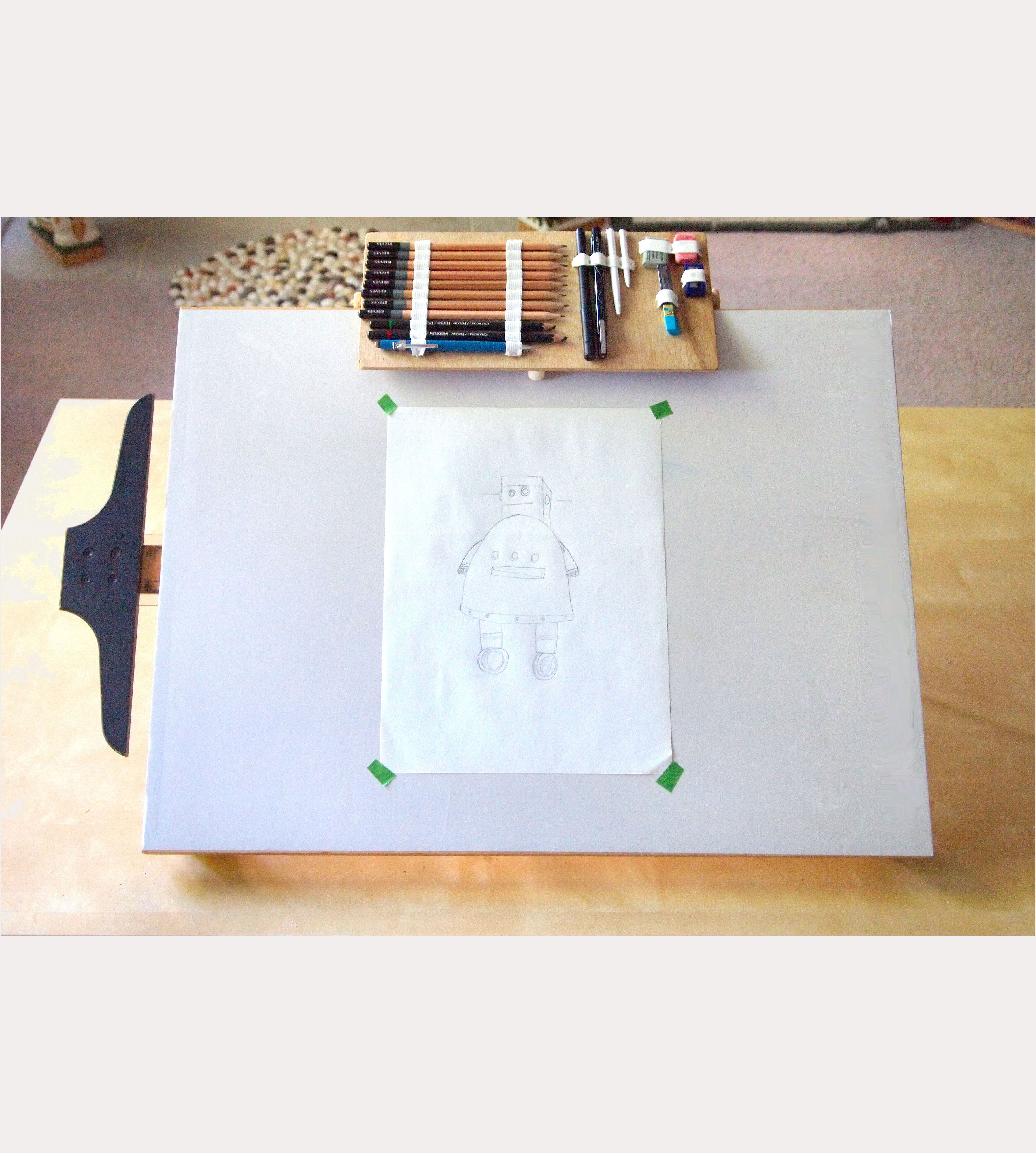 Update an Old Drawing Board