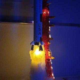 Saturn V Lamp