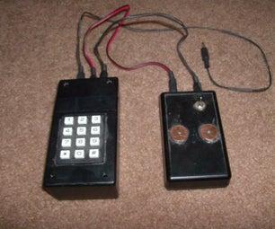 Morse Code Touch Keyer/Autocoder