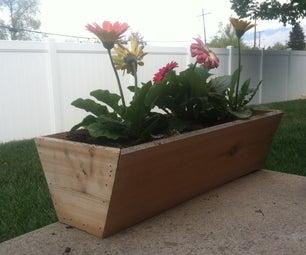 Simple Cedar Flower Box