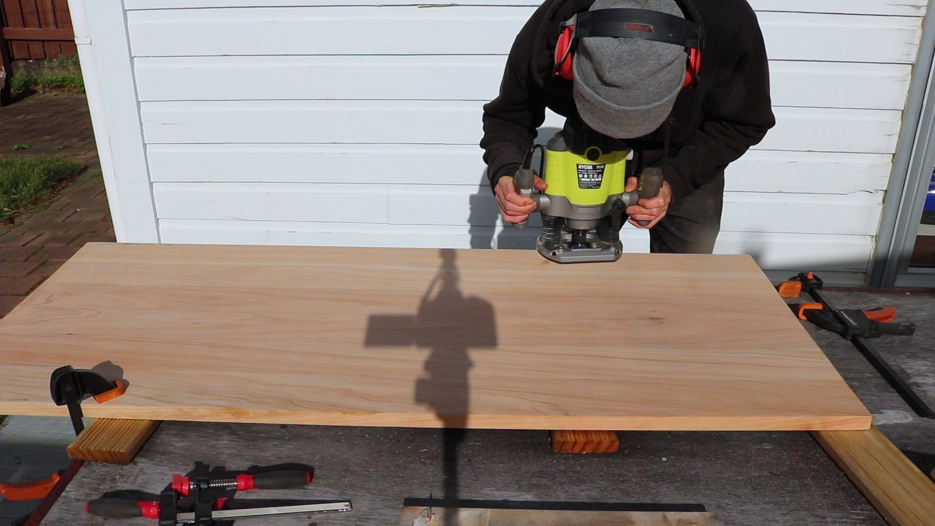 Finishing the Timber