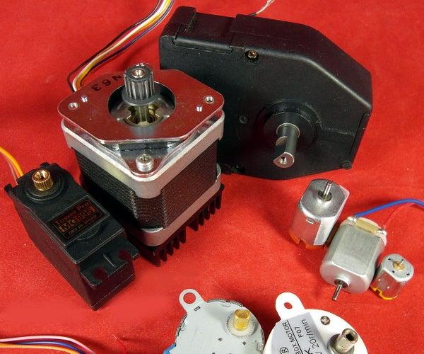 Tutorial:DC Motors-1/3: Continuous, H-Bridge, Gear
