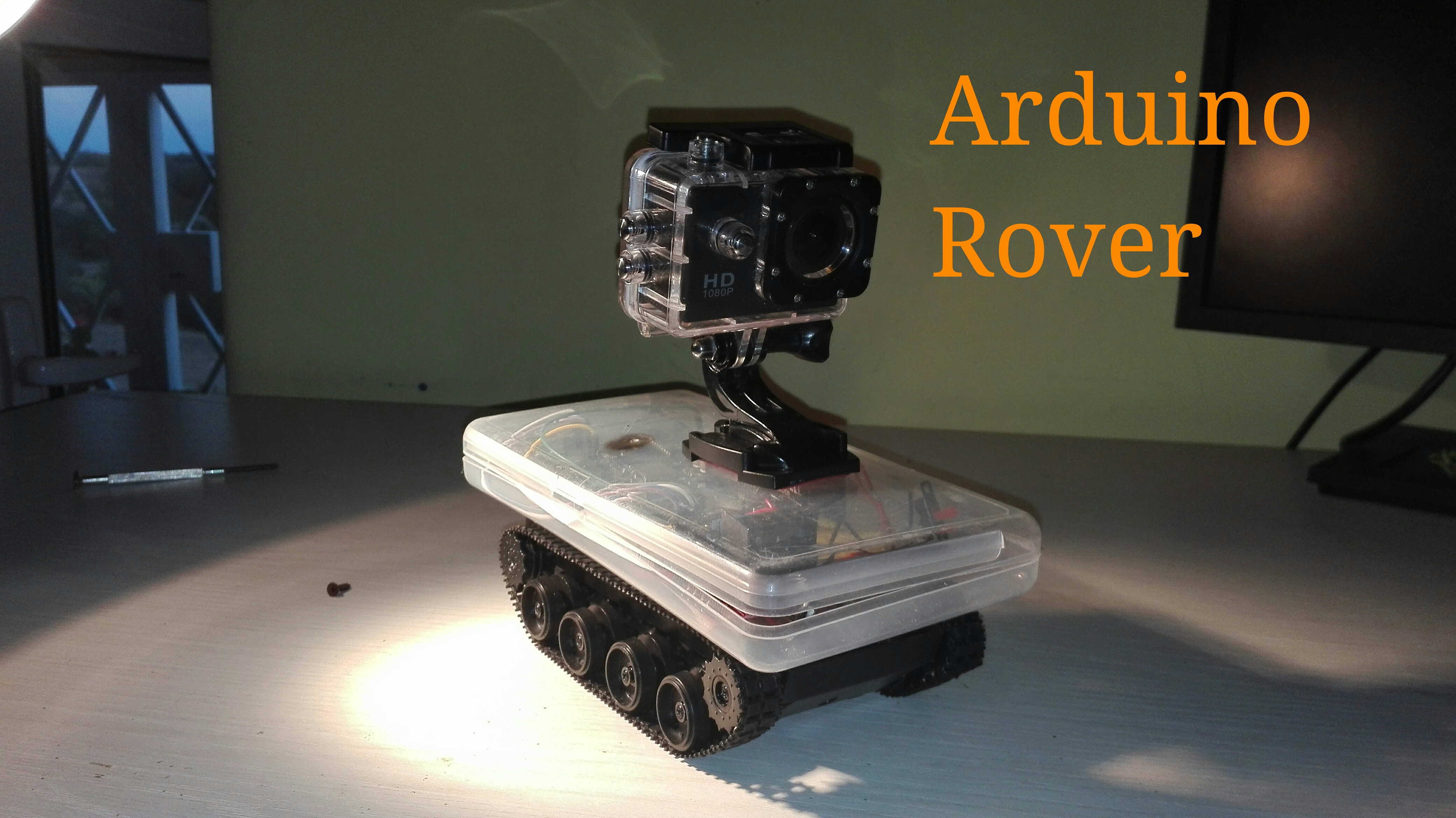 Arduino Bluethooth Exploration Rover