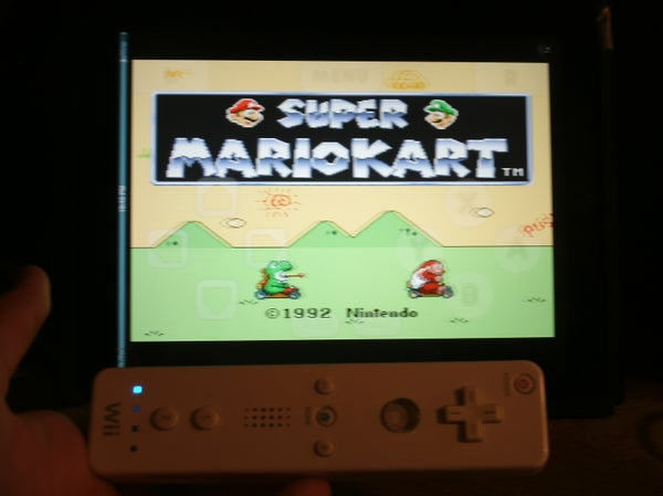 Play Nintendo Games on the Idevice With a Wiimote for Free!