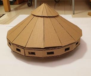 Shooting Cardboard Da Vinci Tank