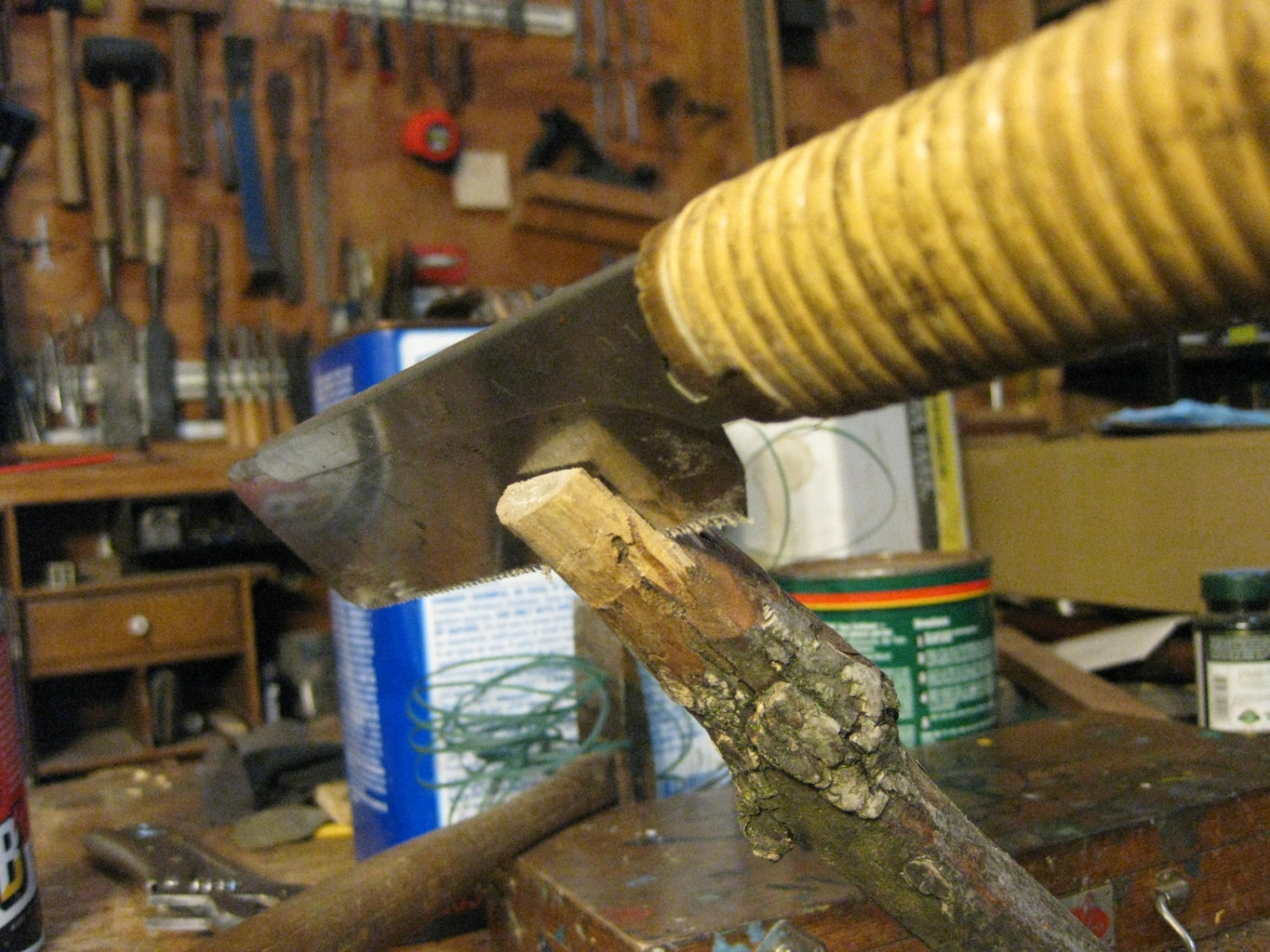 Cut a Kerf in Your Branch