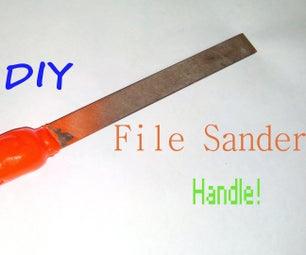 Diy File Sander Handle