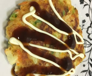 Gluten Free Vegetable Pancakes