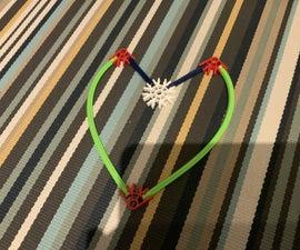 Knex Heart (or Overgrown 'V')
