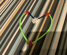Knex Heart (or Overgrown 'V')