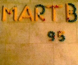 My Name Made Out Knex.