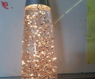 Ghost Pops Glitter Lamp From Hand Sanitiser