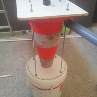 How to Make a Street Cone Cyclone Dust Collector