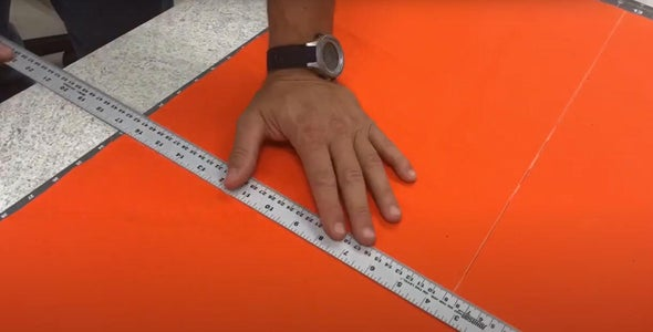 Layout and Cut the Material for the Large Pocket