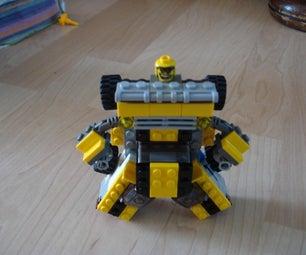 Lego Bumblebee/barricade Combo Build