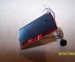 Simple Solar Dragster Car