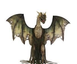Halloween Dragon Prop