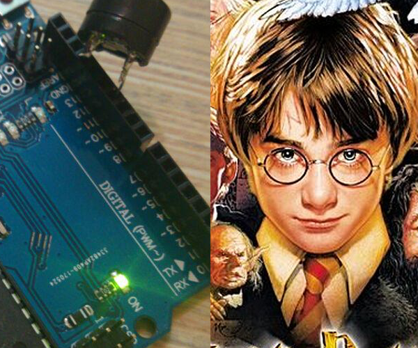 Create Songs With Arduino: Harry Potter Theme Song