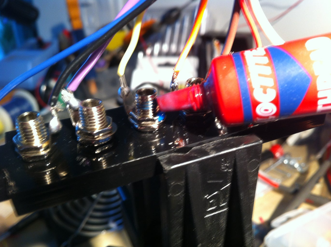Wire the Headers