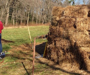 Compost Heating System