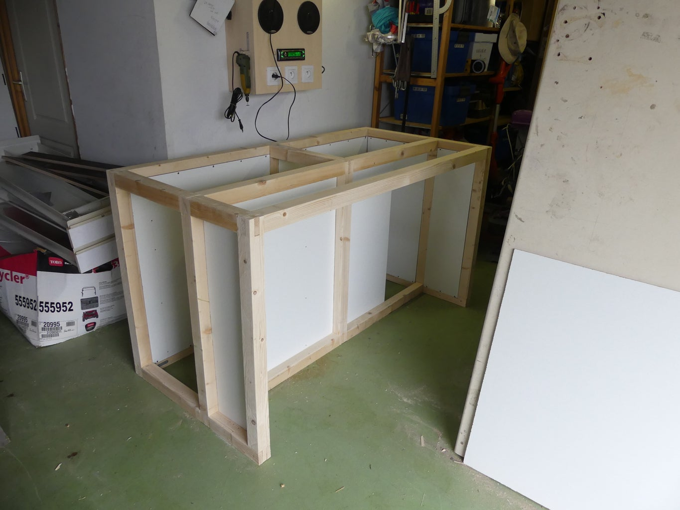 Install the Infill Panels