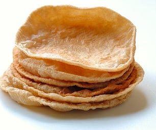 Puri - Similar to Chapati But Fried