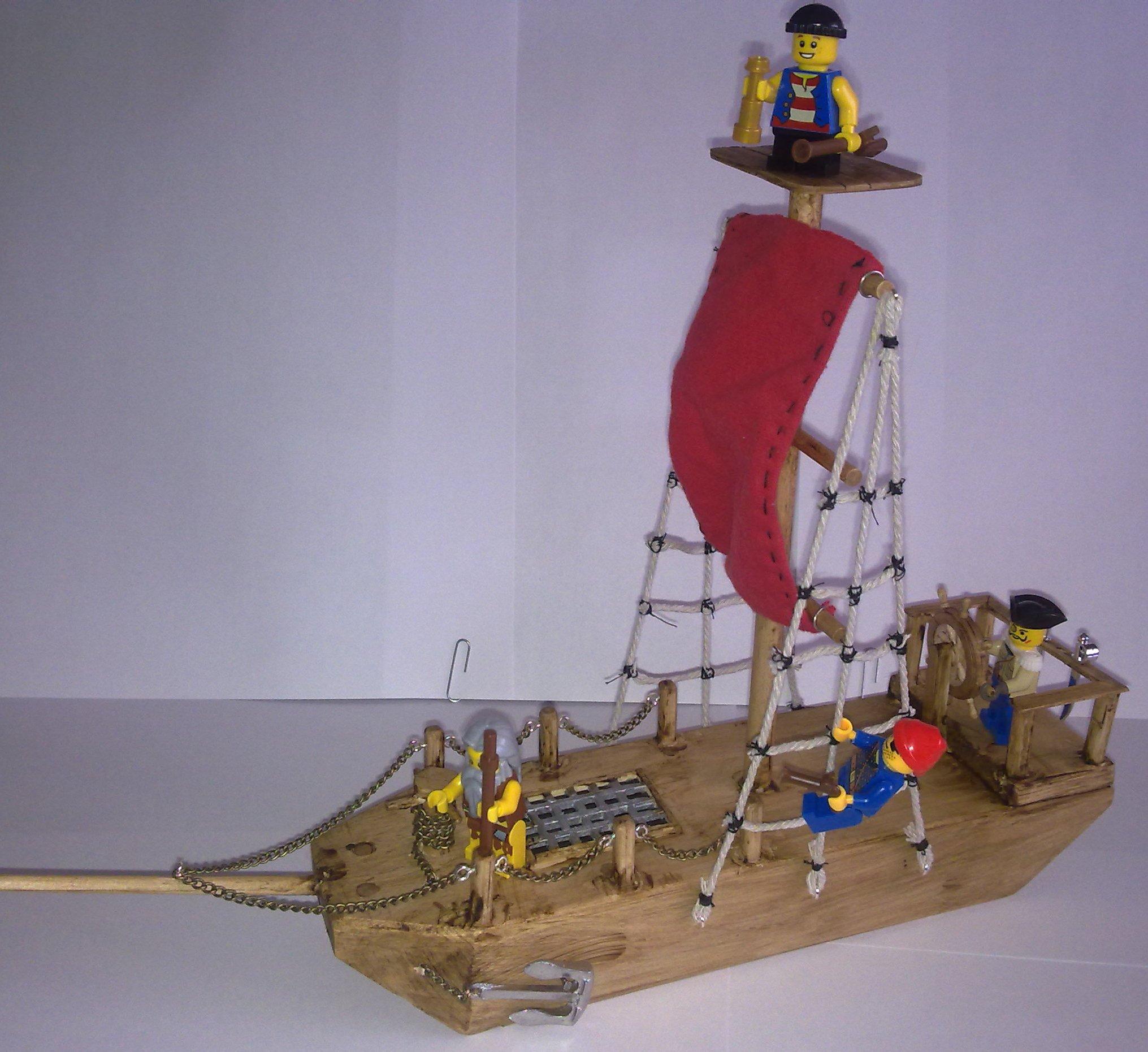 Pirate Ship Modification