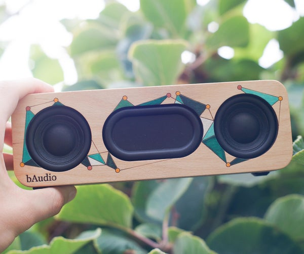 Simple 10w Bluetooth Portable Speaker